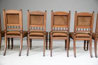 6 Victorian Walnut Dining Chairs (9 of 11)