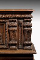 Mid-18th Century Finely Carved Oak Kist or Coffer (6 of 7)