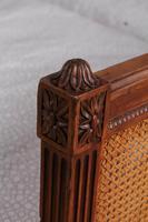 Fabulous Pair of Single Henri II Style Cane & Wood Single Beds (3 of 11)