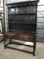 Beautiful 18th Century Oak Dresser (6 of 6)