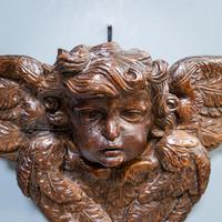 Carved Putto Head & Wings (5 of 9)