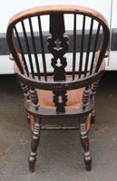 Beautiful Large Oak Country Farmhouse Armchair - 1940s (4 of 4)