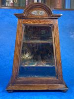 Victorian Oak Miniature Display Cabinet (4 of 11)