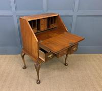 Very Good Queen Anne Style Burr Walnut Bureau (15 of 18)