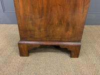 George I Style Burr Walnut Bureau (18 of 18)