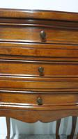 Pair of French Mahogany Bedside Chests / Cabinets (7 of 9)