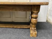 Pine Farmhouse Dining Table (7 of 17)