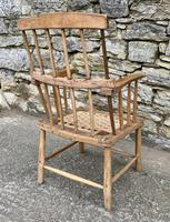 Antique Primitive Westcountry Stick Back Windsor Chair (5 of 18)