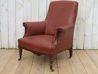 Antique French Napoleon III Armchair For Re-upholstery (9 of 9)