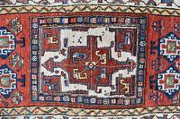 Antique Shassavan long rug 382x126cm (3 of 9)