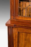 Regency Period Mahogany Two Door Bookcase (5 of 6)
