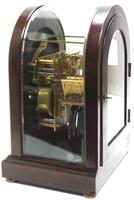 Mahogany & Bevelled Glass W&H Mantel Clock Dual Chiming Musical Bracket Clock Chiming on 8 Coiled Gongs (8 of 10)