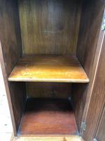 Antique Walnut Blind Panel Cupboard (4 of 8)