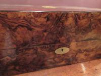 Superb Antique Burr Walnut London Jewel Box (2 of 8)