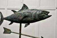 Verdigris Copper Folk Art Fish Weather Vane (6 of 7)