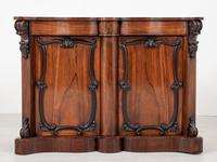 Good Victorian Rosewood Side Cabinet (4 of 8)