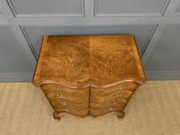 Waring & Gillow Burr Walnut Serpentine Chest of Drawers (13 of 15)