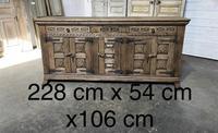 Rustic Oak Spanish Sideboard (12 of 13)