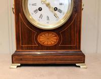Rosewood Lancet Top Mantel Clock (6 of 15)