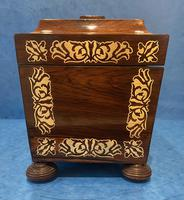 Regency Rosewood Twin Canister Tea Caddy (8 of 23)