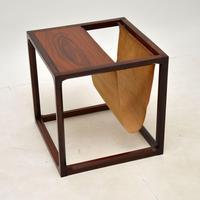 Danish Rosewood Side Table / Magazine Rack by Kai Kristiansen (3 of 9)
