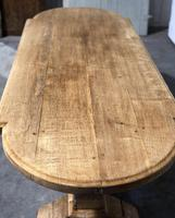 Large Oak Farmhouse Table with Extensions (14 of 30)