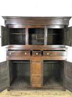 18th Century Welsh Oak Deuddarn Cupboard (6 of 12)