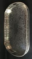 Large Silver Plated Gallery Tray (5 of 5)