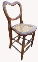 Rare Victorian Organists Chair (5 of 5)