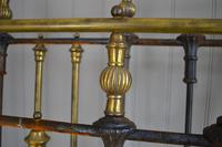 Victorian Brass & Iron King Size 5ft Antique Bed Frame - Fully Restored in Your Choice of Colour (3 of 15)