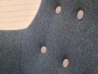 Danish Design 1960s, Restored Armchair, Nevotex Furniture Wool (11 of 14)
