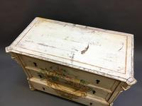 19th Century Painted Commode Chest of Drawers (7 of 12)