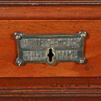 English Mahogany Roll Top Desk (8 of 9)