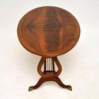 Regency Style Flame Mahogany Coffee Table (5 of 9)