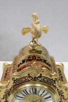 French Napoleon III Boulle Mantel Clock by Japy Freres (6 of 11)