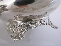 Beautiful Pair of George IV Silver Salts Rebecca Emes & Edward Barnard London 1821 (4 of 6)
