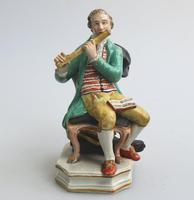 Enoch Wood - Rare Staffordshire Figure of a Flutist c.1810 (3 of 9)