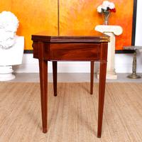 Folding Writing Desk 19th Century Mahogany (3 of 17)