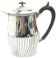English Antique Solid Silver Hot c.1901 (3 of 8)