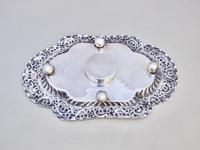 Fabulous Victorian Silver Inkstand by Charles Edward Nixon, Sheffield 1893 (6 of 9)