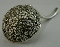 Beautiful Antique Anglo Indian Sterling Silver Sugar Sifter Spoon c.1890 (2 of 9)