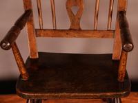 Rare Childs Mendlesham Chair in Yew Wood (6 of 8)