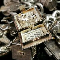 Vintage Sterling Silver Charm Bracelet, 1960s - Heavy (10 of 12)