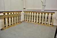 Hand Painted Wooden Railings from a Fair Ground (6 of 11)