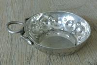 French Silver Wine Taster by Marc Parrod, Minerva .950 Std Mark Dijon c.1905 (2 of 7)