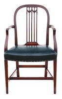 Set of 10 (8+2) mahogany dining chairs 19th Century (2 of 11)