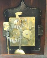 Unusual & Rare Mahogany Bracket Clock Taj Mahal Bezel & Dial Mantel Clock (2 of 10)