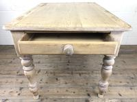 Rustic Antique Pine Farmhouse Kitchen Table (8 of 12)