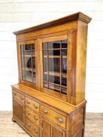 Antique 19th Century Glazed Oak Dresser (9 of 10)