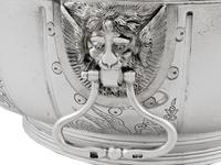 Sterling Silver Monteith Bowl - Antique Edwardian 1905 (6 of 18)